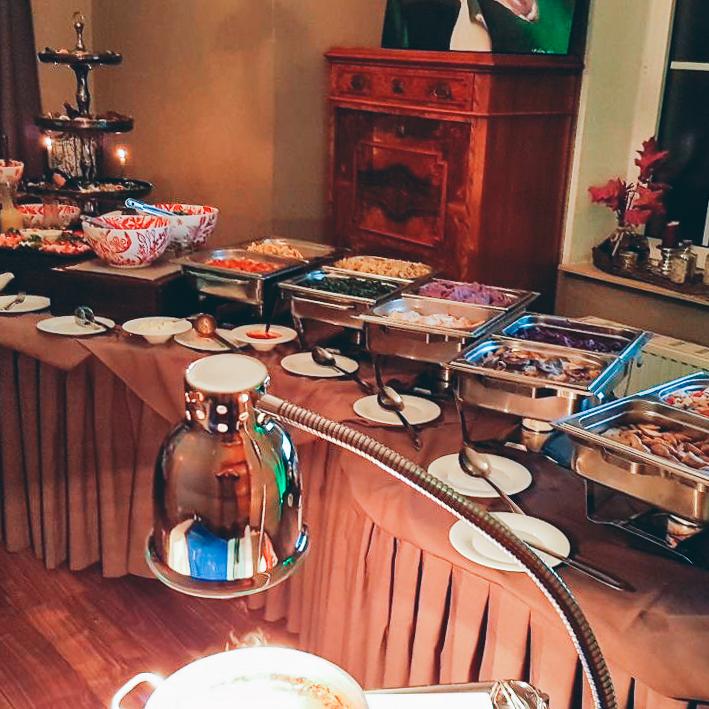 events catering food inspiration strandhotel vier jahreszeiten ort buckow restaurant d
