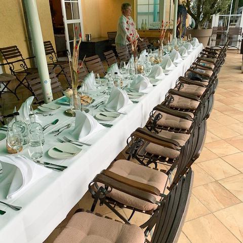 familienfeier inspiration strandhotel vier jahreszeiten ort buckow restaurant l