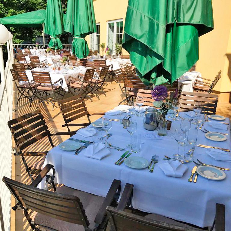Strandhotel Vier Jahreszeiten - Gastronomisches Event auf der Seeterrasse